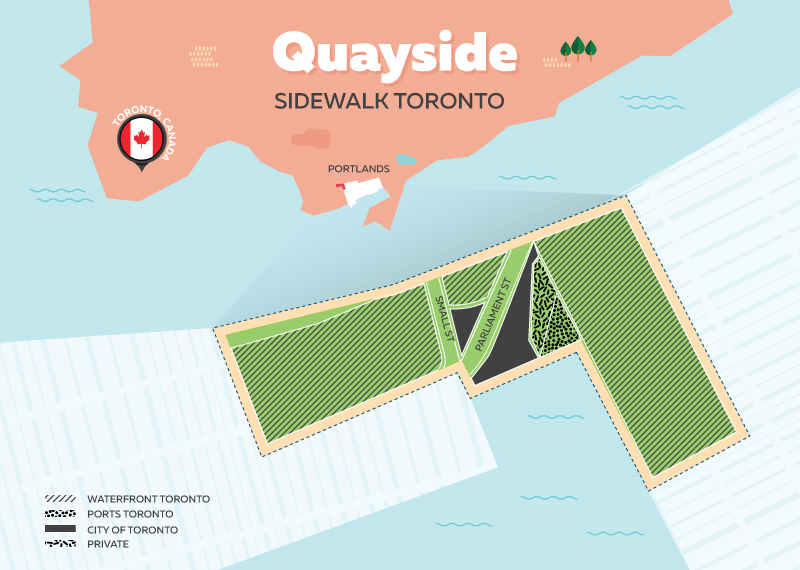 5) Quaysidem Toronto - Most Techy City